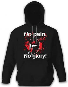 sudadera no pain no glory