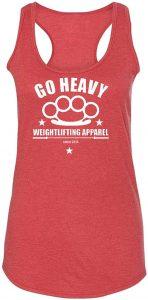 camiseta mujer go heavy
