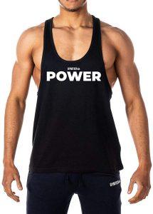 camiseta hombre power