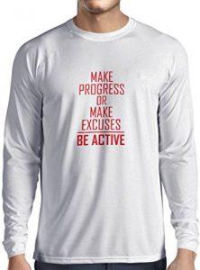 camiseta hombre be active