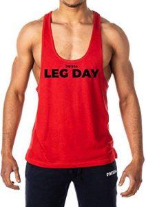 camiseta leg day