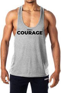 camiseta gym courage