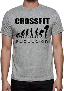 camiseta crossfit gris