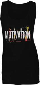 camiseta mujer gym motivation