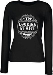 camiseta mujer gym start train