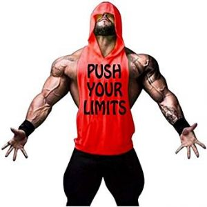 camiseta gym hombre push your limits