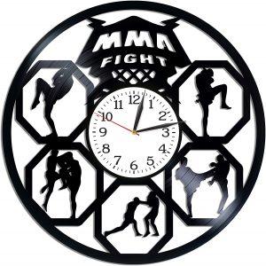 MMA Fight Room Art Lp Vinyl Retro Record Wall