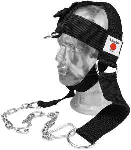 Senshi Japón versión III cinturón de cabeza con cadena